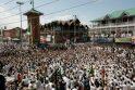 Indijoje per spūstį šventykloje žuvo 10 žmonių