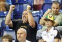 Vilniaus meras Turkijoje atsidavė krepšinio aistroms