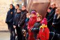 Originalus šventimas: Kauno plaukikai Kalėdoms rengėsi bažnyčioje