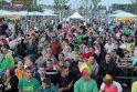 Už Lietuvos rinktinę Klaipėdoje sirgo ne tik tautiečiai