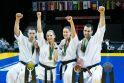 Triumfas: į pasaulio karatė čempionų sostą atsisėdo du lietuviai