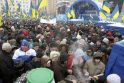 Rinkimai Ukrainoje: Kijevas nusidažė mėlynai (papildyta 15.57 val.)