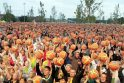 Klaipėdiečiai padėjo pasiekti kamuolių mušinėjimo pasaulio rekordą