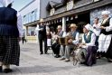 Klaipėdiečiai linksminosi Močiutės ir senelio šventėje