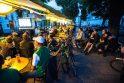 Pergalė Venesueloje tapo naktine pramoga Rotušės aikštėje