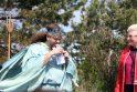 Palangoje sekmadienį lijo gintarais