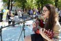 Europos dieną kauniečiai pasitiko šokiais ir dainomis