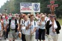 Lenkų maldininkus į Vilnių atvedė istorija