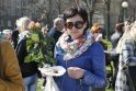 Klaipėdos menininkai mamoms surengė viešą puotą (foto)