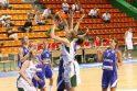 Lietuvos krepšininkės atrankos turnyre atsirevanšavo slovėnėms