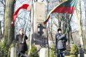 Po 60 metų nuo A.Brako mirties klaipėdiečiai pagerbė jo atminimą
