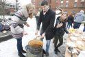 KU studentai kvietė valgyti aštrią žuvienę