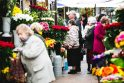 Turgaus prekeiviai: gėlės prieš Motinos dieną nepabrango