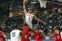 JAV krepšininkai nesunkiai įrodė pranašumą prieš Angolą