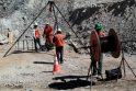 Čilėje po žeme įstrigusius kalnakasius pradžiugino karštas maistas ir muzika