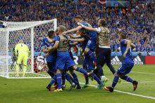 Pergalę paskutinę mačo akimirką iškovoję islandai keliauja į aštuntfinalį