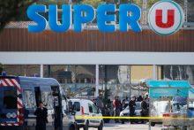 Šaudynės ir įkaitų drama Prancūzijoje