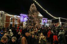 Klaipėdos Kalėdų eglutės įžiebimas 2018