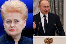Reakcija išsiskyrė: Estija pasveikino V. Putiną, Lietuva – ne
