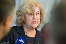R. Šalaševičiūtė nepaliks socialdemokratų gretų dėl duoto pažado A. Brazauskui