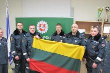 Į Slovėniją padėti kolegoms išvyko dar viena Lietuvos policininkų grupė