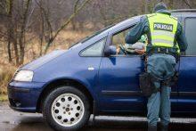 Katastrofiškos eismo sąlygos girtų vairuotojų negąsdino