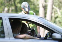 Per reidą Vilniuje policija nustatė 46 KET pažeidėjus