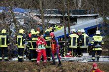 Vokietijoje – tragiška traukinių avarija: žuvo mažiausiai 4 žmonės <span style=color:red;>(papildyta)</span>