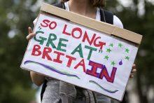 """""""Brexit"""": britai iki šiol nesuvokia, kad galybės laikai praėjo"""