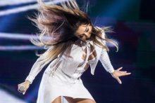 """""""Eurovizijos"""" atrankoje E. Jakštytė savo plaukų šokį atliks ne viena"""
