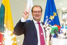 V. Uspaskicho pranešimas dėl mero rinkimų