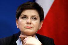 Lenkijos premjerė: skirtingų greičių Europa atneš chaosą