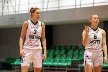 """""""Aisčių-LSMU"""" krepšininkės įveikė Talino klubą"""
