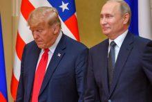 V. Putinas: derybos su D. Trumpu buvo labai sėkmingos, naudingos