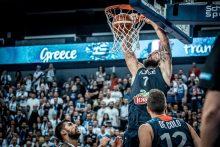 Prancūzai atlaikė graikų šturmą ir iškovojo pirmą pergalę Europos čempionate