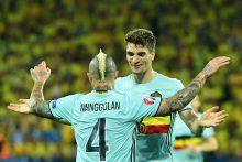 Puikus R. Nainggolano įvartis išsiuntė Švedijos futbolininkus namo