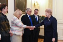 Prezidentė susitinko su ES užsienio šalių ambasadoriais