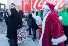 Kelionę po Lietuvą pradėjo Kalėdų karavanas
