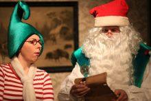 Kalėdų Senelis atvežė Laplandiją į Klaipėdą