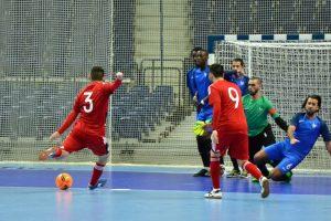Prancūzų salės futbolininkai Andorą įveikė lietuviams nepalankiu rezultatu