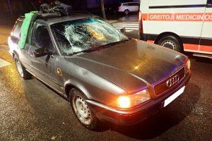 Petrašiūnuose du žmones partrenkęs vairuotojas buvo girtas