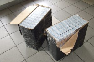 Kontrabandininkas jam palikto krovinio neberas