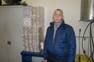 Už rūkalų kontrabandą baltarusiui gresia tūkstantinė bauda
