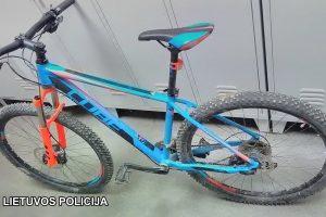 Ieško savininko: gal šis mėlynas dviratukas jūsų?