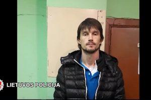 Įkliuvo sukčius iš Rusijos, tuštinęs Vilniaus bankomatus