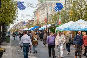 Savaitgalį kvies renginiai, skirti Europos dienai (bus eismo ribojimų)