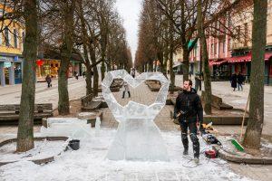 Dovana Kaunui – ledinė širdis