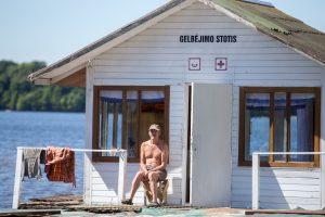 Kauno paplūdimiuose gelbėtojams dar nėra darbo