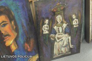 Kriminalistai surado pagrobtus vertingus tapytojo darbus