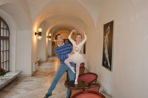 Baleto primarijaus N. Juškos pamokoje – Italijos princo dukra